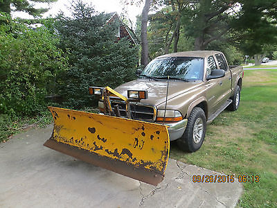 Dodge : Dakota SLT Crew Cab Pickup 4-Door 2001 dodge dakota slt crew cab pickup 4 door 4.7 l