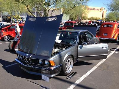 BMW : 6-Series BMW 635CSI EURO SPEC, 1984!! 10:1 COMP, 5SP, HRE wheels, NARDI, A VERY NICE CAR!