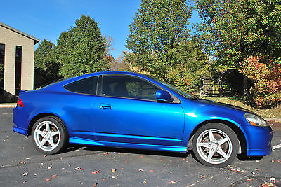Acura : RSX Type-S Acura, RSX, Type-S,Blue,Coupe,Leather,Manual