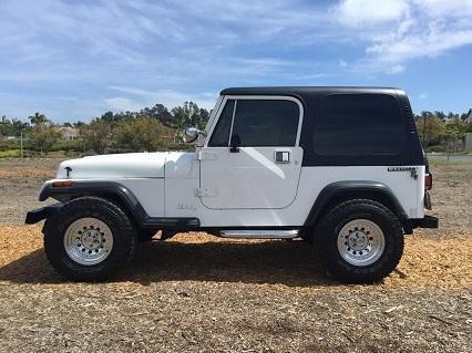 1990 jeep wrangler yj cars for sale. Black Bedroom Furniture Sets. Home Design Ideas