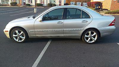 Mercedes-Benz : C-Class C320 2002 mercedes benz c 320 silver c class 4 dr sedan 3.2 l