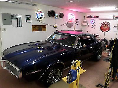 Pontiac : Firebird CONVERTABLE 1967 firebird 400 ram air 4 speed convertable