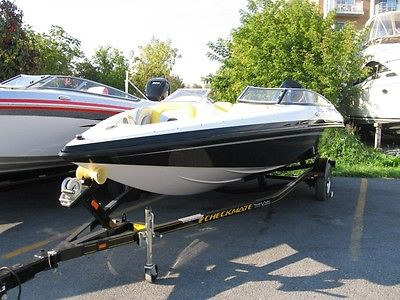 New 2012 Checkmate Pulsare 2000BRX with 150 Pro XS and Trailer