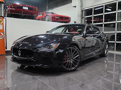 Maserati : Ghibli S Q4 Sedan 4-Door 2015 maserati ghibli s q 4 sedan 4 door 3.0 l