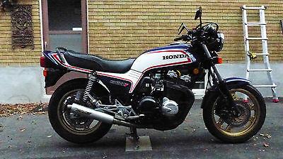 Honda : CB 1983 honda cb 1100 f blue canadian model with rearsets 34 000 kilometres