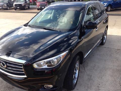 2013 INFINITI JX35 4 DOOR SUV