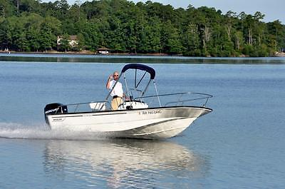 Boston Whaler Montauk 170 with 90 hp Mercury four stroke and trailer