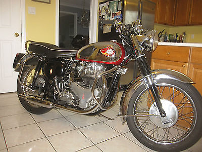BSA : A 10 Big Valve Super Rocket #'s Matching 1961 BSA A10 Big Valve Super Rocket 650 Pre Unit