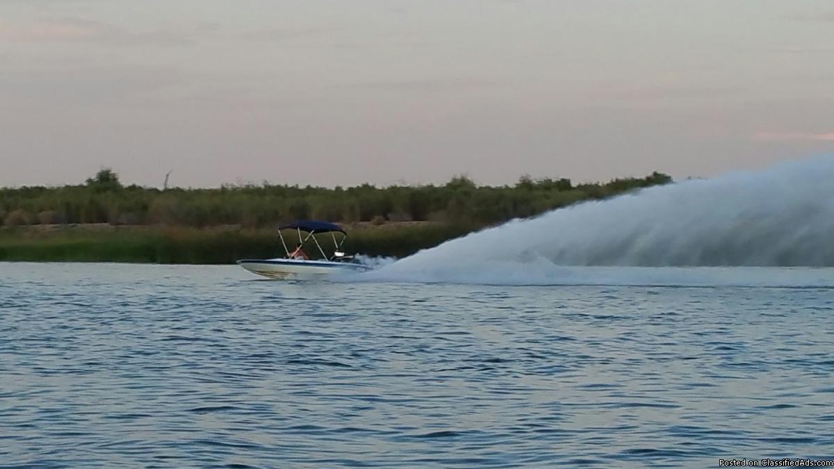 19' Ford 460 Arrivee jet boat