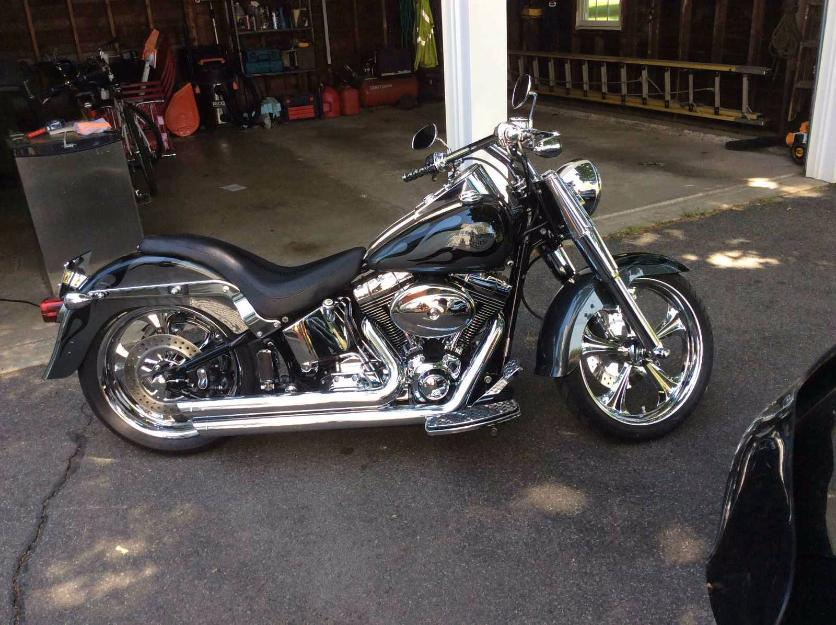 2004 fatboy motorcycles for sale in jacksonville florida. Black Bedroom Furniture Sets. Home Design Ideas