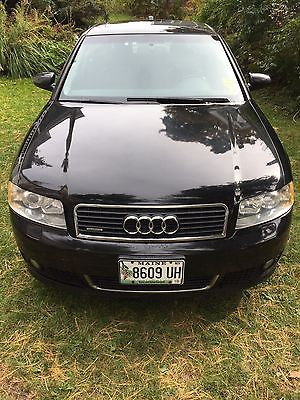 Audi : A4 ultrasport a4 04 audi a 4 ultrasport quattro awd 1.8 t 6 spd manual blk blk leather turbo b 6