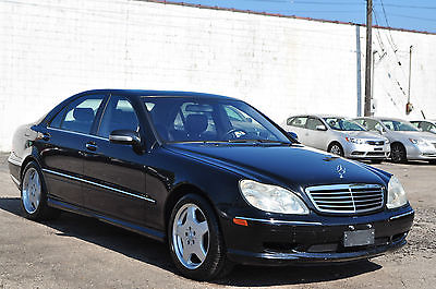 Mercedes-Benz : S-Class S430 AMG Apperance  Only 98K Runs/Drives Like New New Tires Great Car! W212 W211 S 430 S500 04 01 03