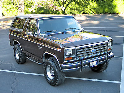 Ford : Bronco XLT LARIAT  1982 ford bronco xlt lariat 351 windsor edelbrock lifted offroad 4 x 4