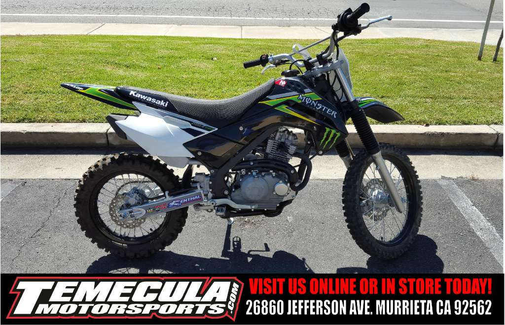 Excellent 2009 Kawasaki Klx 140 Monster Energy Motorcycles For Sale Pabps2019 Chair Design Images Pabps2019Com