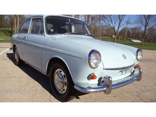 Volkswagen : Other Fastback 1969 vw fastback no reserve all original low miles runs drives nice