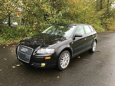 Audi : A3 Base Hatchback 4-Door 2007 audi a 3 2.0 t auto 78 k miles tan leather pano roof