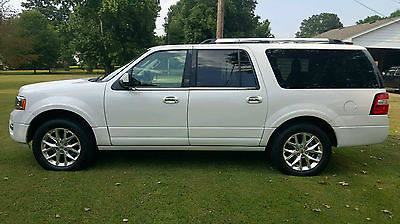 Ford : Expedition LIMITED, 2WD 2015 ford expedition el 4 x 2 limited 13 k miles super clean