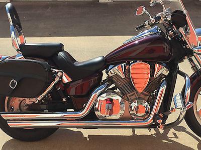 Honda : VTX 2007 honda vtx 1300 c 5200 only 1 818 miles