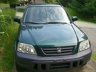 Honda : CR-V EX Sport Utility 4-Door Green CRV FWD,  Good condition, Good winter ride.