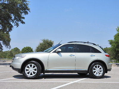 Infiniti : FX 4dr 2WD 4 dr 2 wd low miles suv automatic gasoline 3.5 l v 6 cyl gold