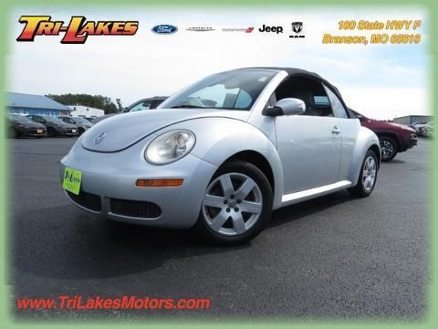 2007 VOLKSWAGEN NEW BEETLE 2 DOOR CONVERTIBLE