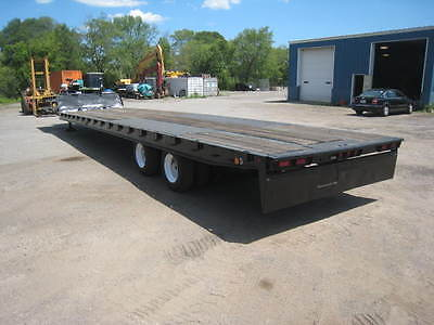 2000 Trail-Eze 40 Ton Slide Axle Equipment Trailer