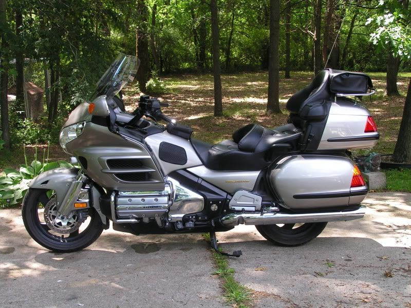 2002 Honda Goldwing GL1800 w/11,400 original miles.