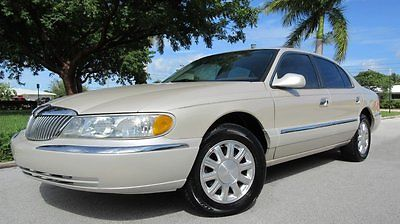 Lincoln : Continental Base Sedan 4-Door 2002 lincoln continental 4.6 l alpine audio sunroof cd changer super low miles