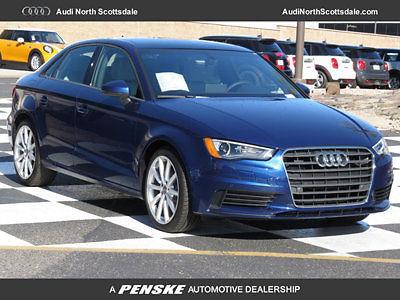 Audi : A3 Premium 2.0 Quattro New 2016 Audi A3 Sport Interior Bluetooth Camera Sirius Xm