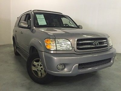 Toyota : Sequoia Limited 2001 toyota limited