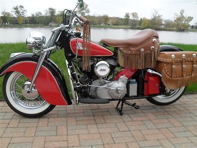 Indian : Indian 1946 indian chief fully restored mostly original parts