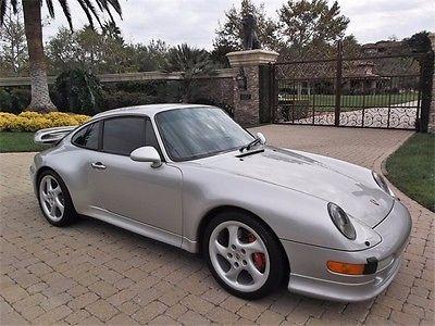 Porsche : 911 Carrera 4S 1998 porsche 911 carrera 4 s 6 speed 993 body records clean collector car