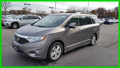 Nissan : Quest 4dr LE Navigation Leather Heated Seats Moon Roof 2014 quest le nav dvd tow package dual roof blindspot 17234 miles