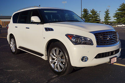 Infiniti : QX80 Touring Package / Tech Package OWNER QX80 4X4 DELUXE TOURING & TECH PACKAGE * ENTERTAINMENT * CARFAX * NICE!!