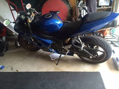 Kawasaki : Ninja 2006 blue kawasaki ninja zx 6 r 636