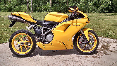 Ducati 1098 Yellow Motorcycles for sale