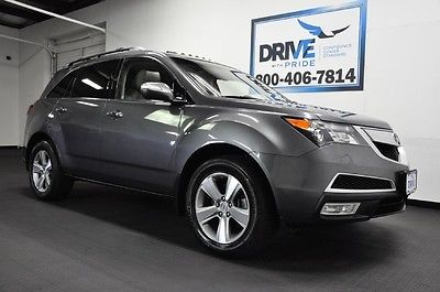 Acura : MDX SH-AWD TECH PKG NAV CAM 3RD ROW HTD LEATHER STS SUNROOF REAR AC 2010 acura mdx sh awd tech pkg nav cam 3 rd row htd leather sts sunroof rear ac