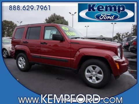 2012 jeep liberty red cars for sale. Black Bedroom Furniture Sets. Home Design Ideas