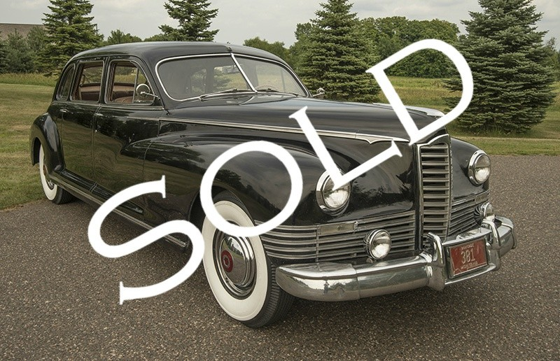1947 Packard Custom Super 8 Clipper 7 Passenger Sedan
