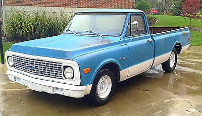 Chevrolet : C-10 base 2 door Classic 1971 Chevy C-10
