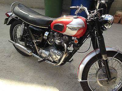 1969 Triumph Bonneville Motorcycles For Sale