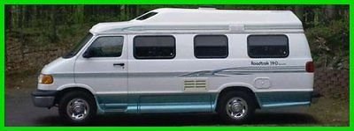 1998 Roadtrek Versatile 190 19' Class B RV RAM 350 Gasoline Storage MICHIGAN