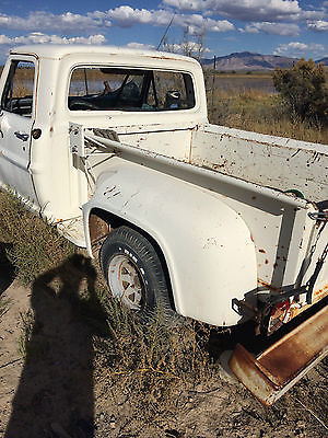 Ford : Other Pickups 2 door side step 1972 white ford sidestep pick up truck