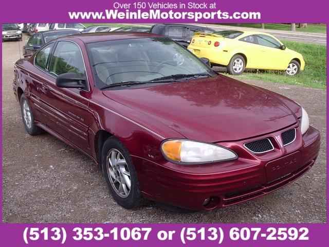 2001 Pontiac Grand Am 2dr Cpe SE1