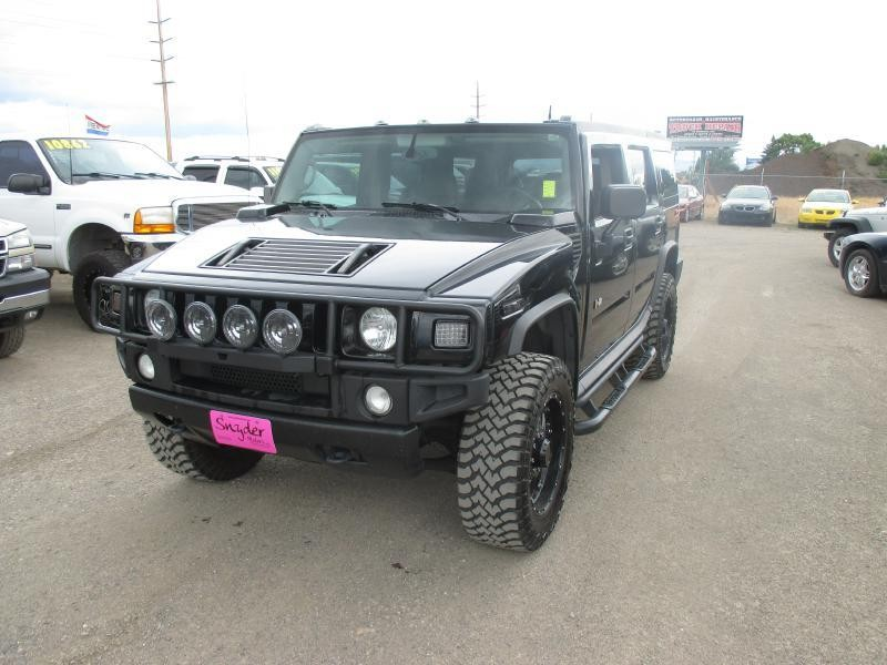 2004 HUMMER H2 Leather 3rd Row RIMS Clean Well Maintained Blacked Out