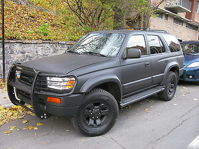 Toyota : 4Runner Limited 1998 toyota 4 runner limited v 6 4 x 4 only 232000 km 141000 miles beautiful rare