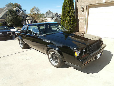 Buick : Grand National 1987 buick grand national gnx 16 k original miles charlie sheen owned