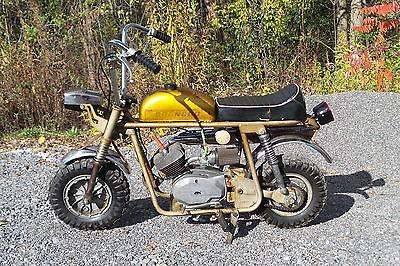 Other Makes : TX6 1970 broncco tx 6 50 cc mini bike chopper benelli fox rupp bonanza lil indian