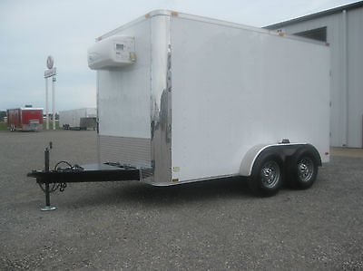 NEW REFRIGERATED CARGO TRAILER - MOBILE COOLER TRAILER - LAST ONE AT THIS PRICE!