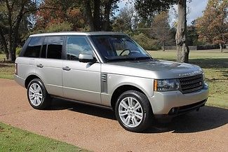 Land Rover : Range Rover HSE LUX One Owner Clean Carfax Lux Pkg Rear Seat Entertainment Michelin Tires $89935